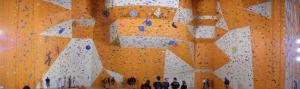 Mur d'escalade d'Arnas