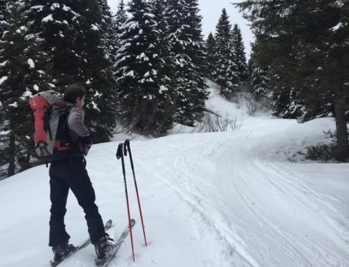 Ski de randonnée en avril et mai