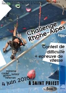 Challenge Rhône Alpes à Saint Priest