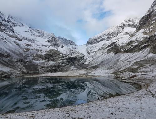 Les lacs de la Muzelle et du Lauvitel, avec Doumé