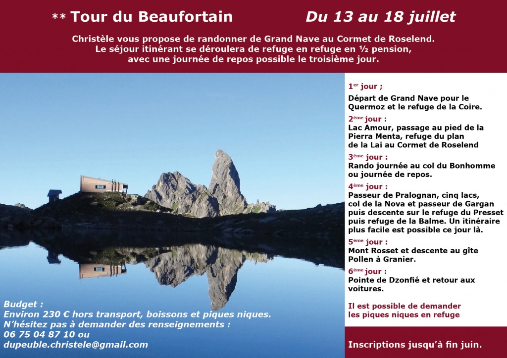 Tour du beaufortain
